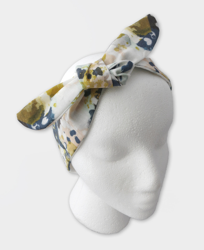 Watercolor Tie Knot Headband