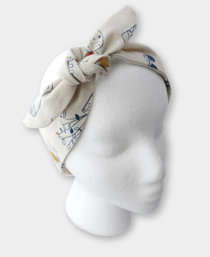Breakfast Tie Knot Headband